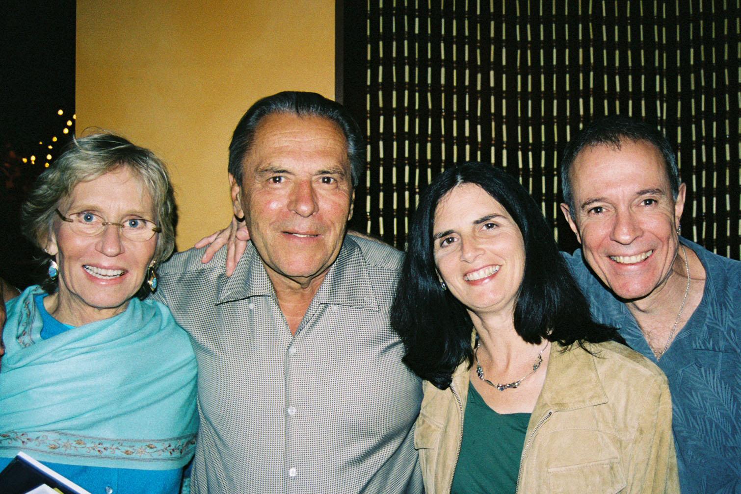 Christina and Stan Grof, Cary and Tav Sparks